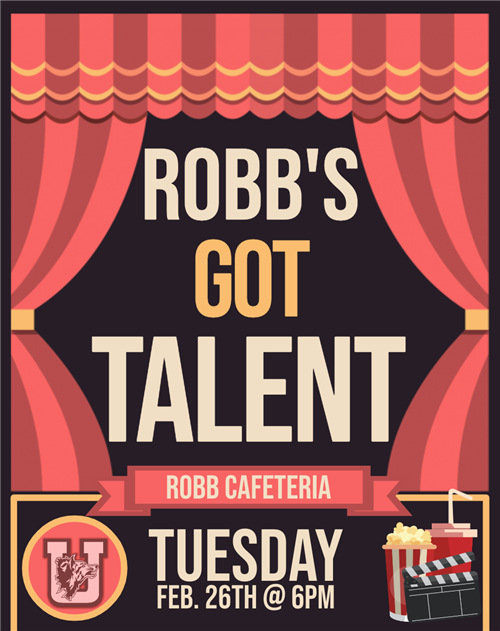Robb's Got Talent...Feb.26th!