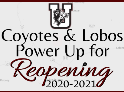 Coyotes & Lobos Power Up Reopening 2020-2021