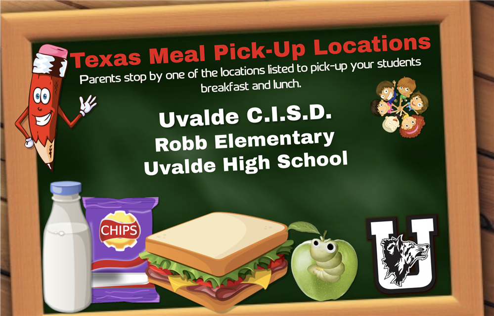 Texas Meal Pick-Up Locations....