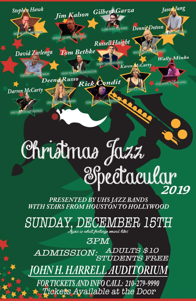 Christmas Jazz Spectacular...December 15th!
