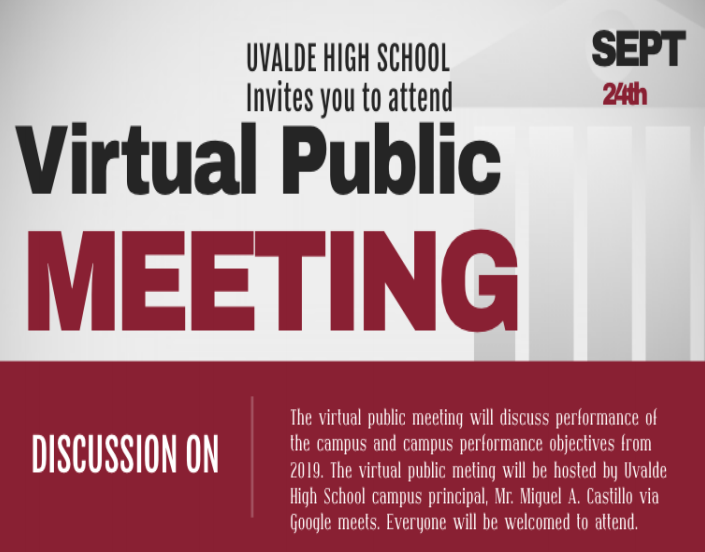 UHS Virtual Public Meeting, Sept. 24th, 2020