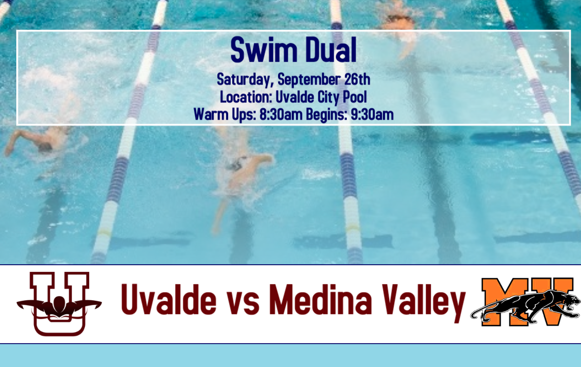 Swim Dual...Saturday, Sept. 26th