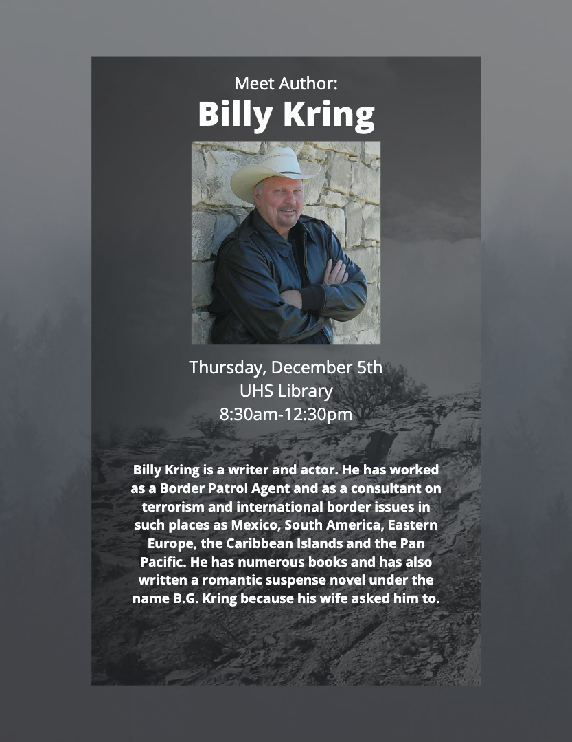 Meet Author Billy Kring