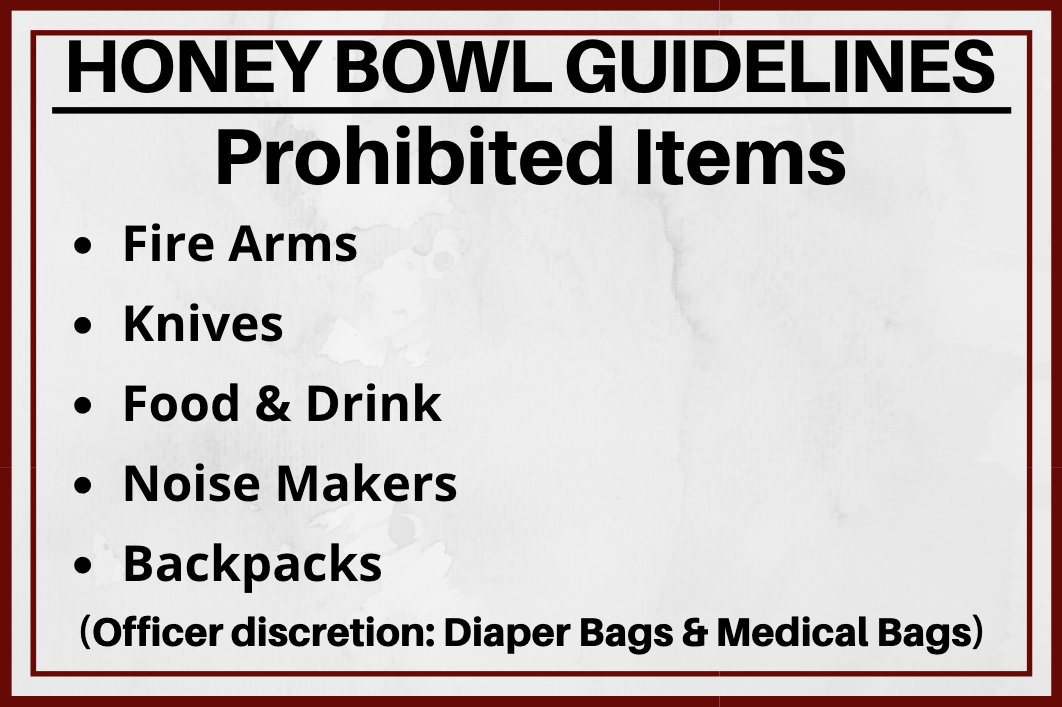 hb prohibited items