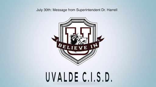 July 30th: Message from Superintendent Dr. Harrell