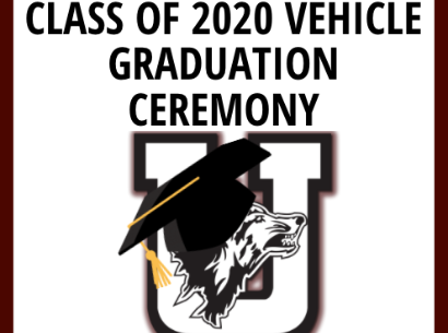 Class of 2020 Vehicle Graduation Ceremony Youtube Livestream...May 22nd!