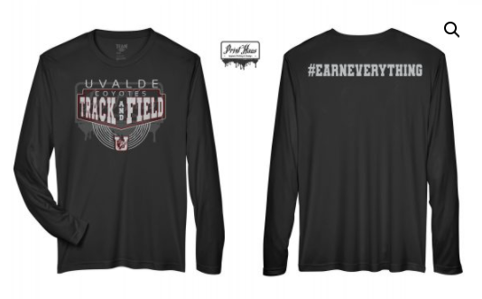 Coyote Track & Field Shirts Now Available!
