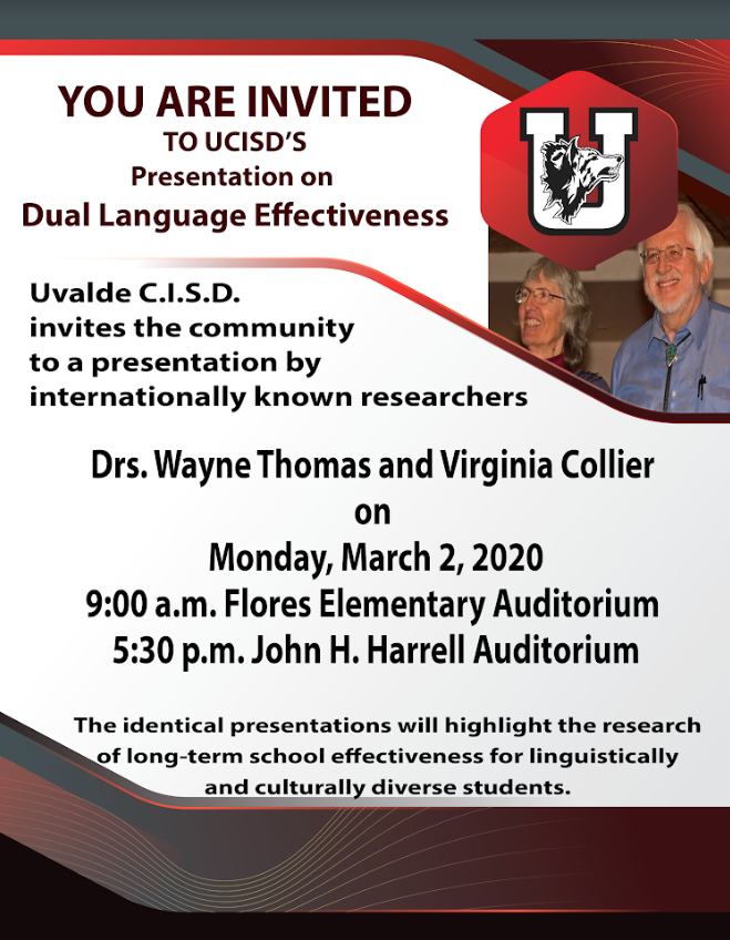 A Presentation on Dual Language Effectiveness...March 2nd!